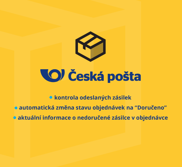 Czech Post - change order status of delivered packages