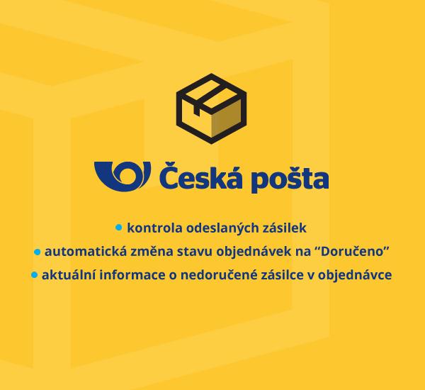 Česká pošta - automatická změna stavu objednávek u doručených zásilek