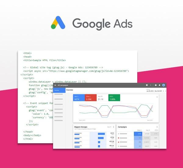 Google Ads (Adwords) měření konverzí